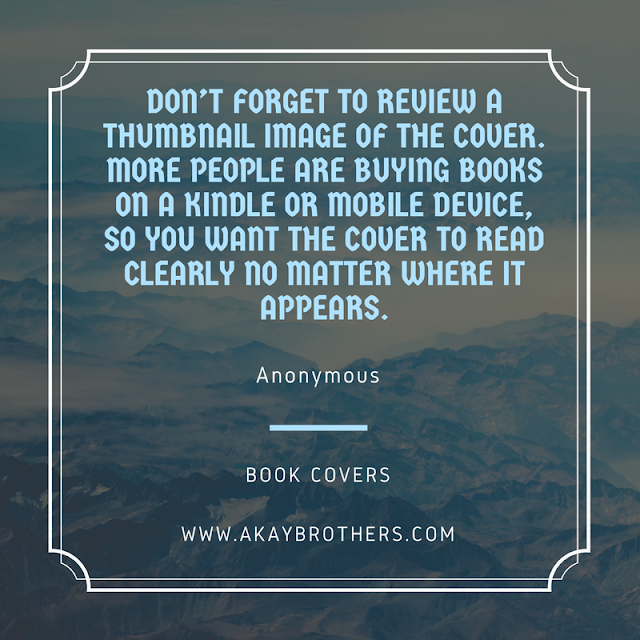 Quotes on how to creates the Best Book Covers