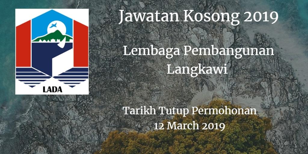 Jawatan Kosong LADA 12 March 2019