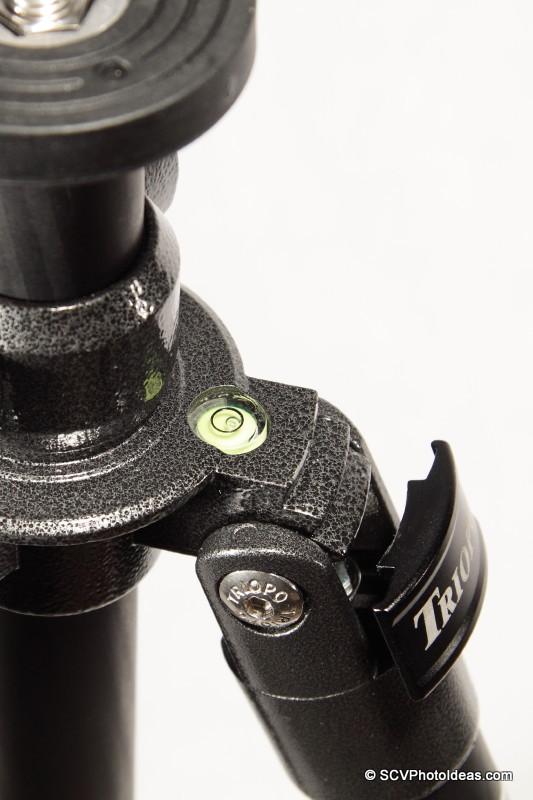 Triopo GX-1328 leg angle lock closeup