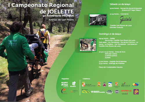 I Campeonato Regional de Joëlette en Arenas de San Pedro - TiétarTeVe