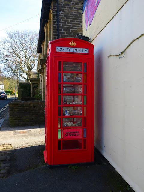 Phonebox housing Warley Museum - Museum of Wonders.