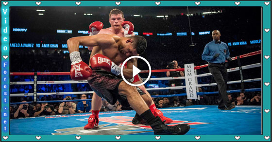 Amir Khan knocked out by Canelo Alvarez in sixth round
