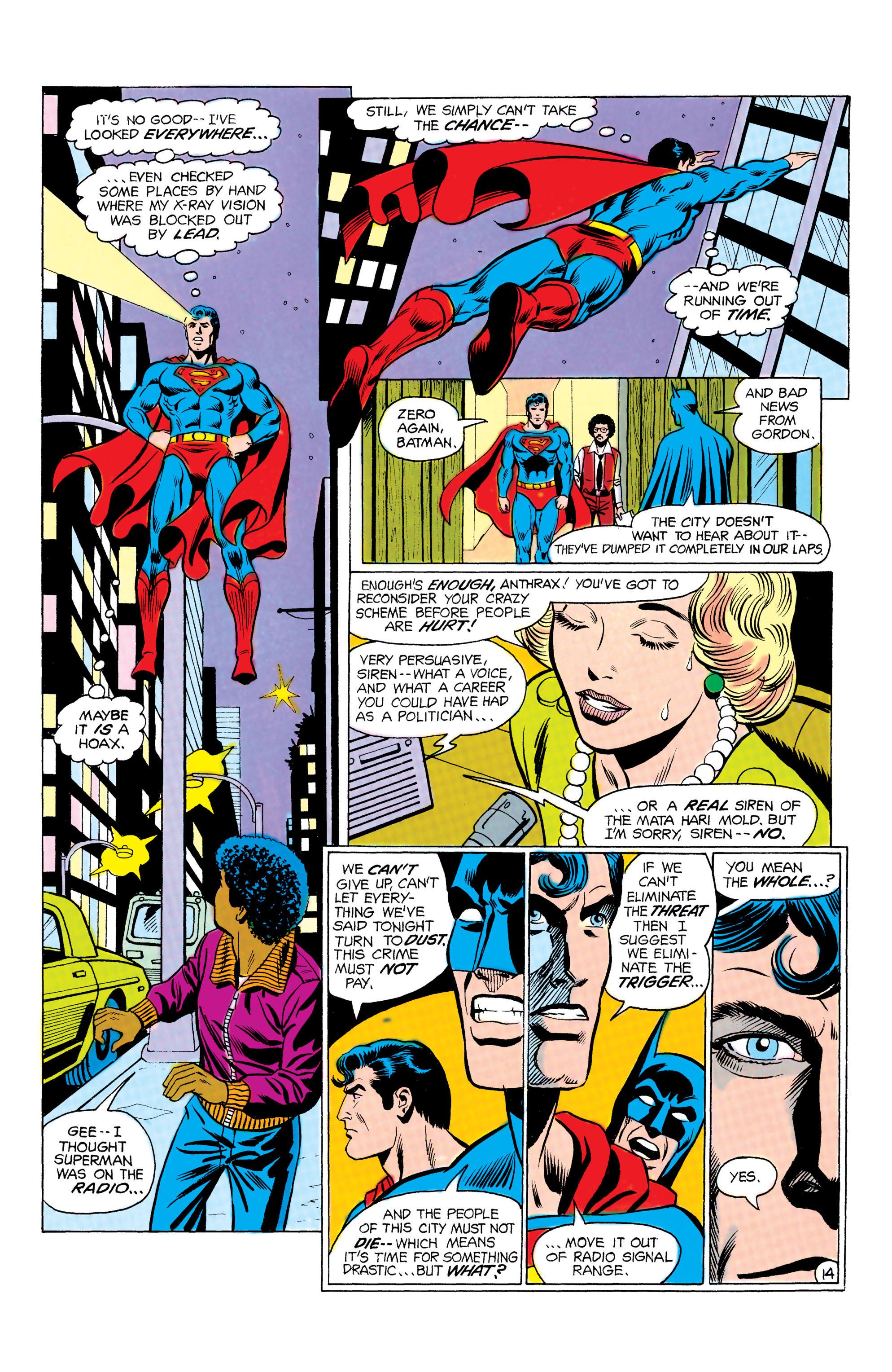 Read online World's Finest Comics comic -  Issue #292 - 15