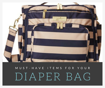 Must-Have Items For Your Diaper Bag {Plus a $50 Gift Card Giveaway}