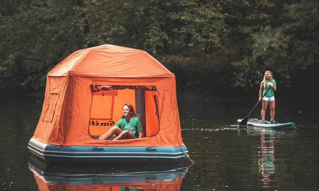 After You See This Amazing Floating Tent, You Will Want To Live In Nature Forever!