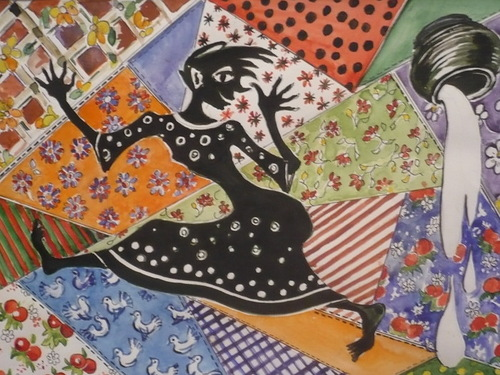Кикимора, персонажи сказочные, сказки русские, болото, про Кикимору, про сказочных персонажей, интересное про Кикимору, поверья, народные поверья, духи, поверья про Кикимору, домашние духи, нечистая сила, персонажи сказок, славянская мифология, суеверия,