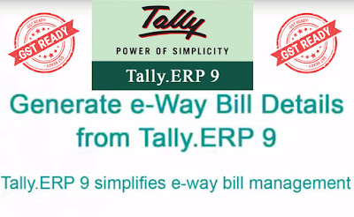 e-way bill management in tally.erp 9 release 6