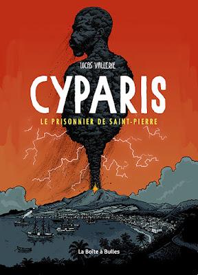 couverture de Cyparis de Lucas Vallerie chez La Boîte à bulles