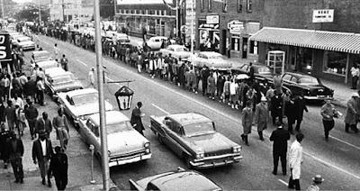 The Montgomery Bus Boycott lasted 381 days.