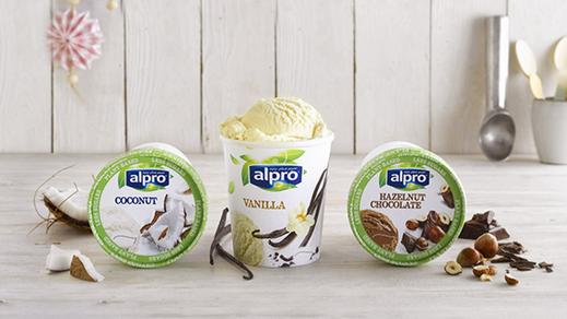 Alpro coconut ice cream for Alpro coconut cuisine