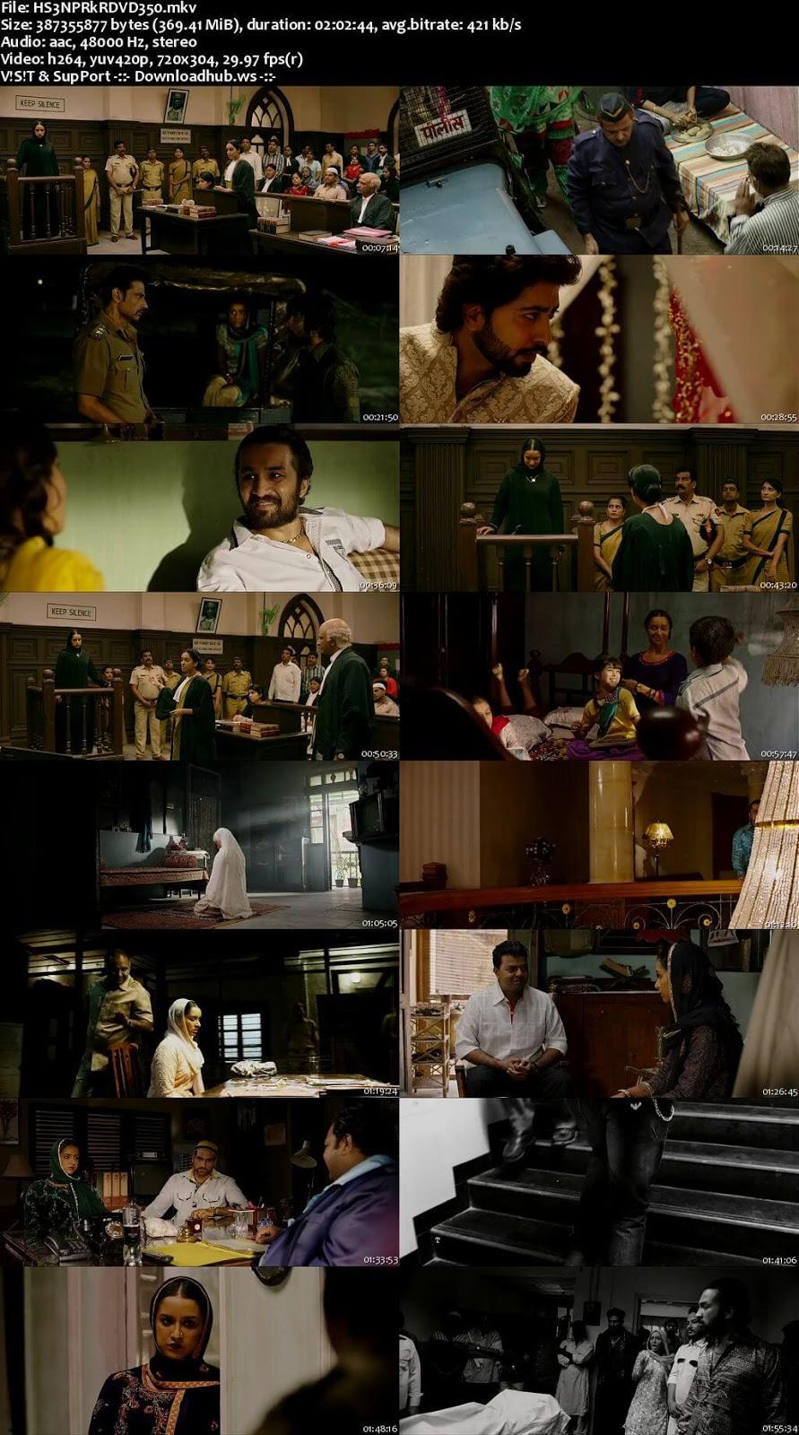 Haseena Parkar 2017 Hindi 480p DVDRip