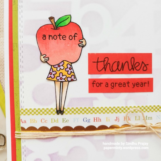 Classy Teachers Cards by September Guest Designer Sindhu Prajay | Classy Teachers Stamp Set by Newton's Nook Designs #newtonsnook #handmade