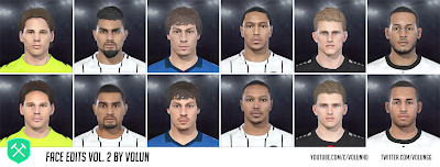PES 2018 Faces Vol.2 by Volun