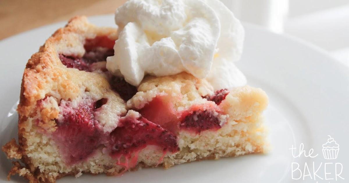 Strawberry Summer Cake Smitten