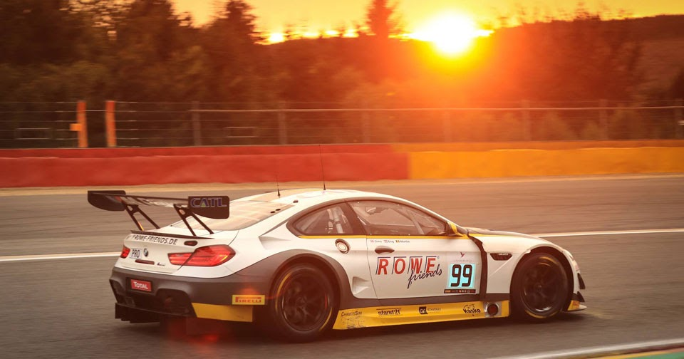 Bmw M6 Gt3 Claims Victory At Thrilling Spa Francorchamps