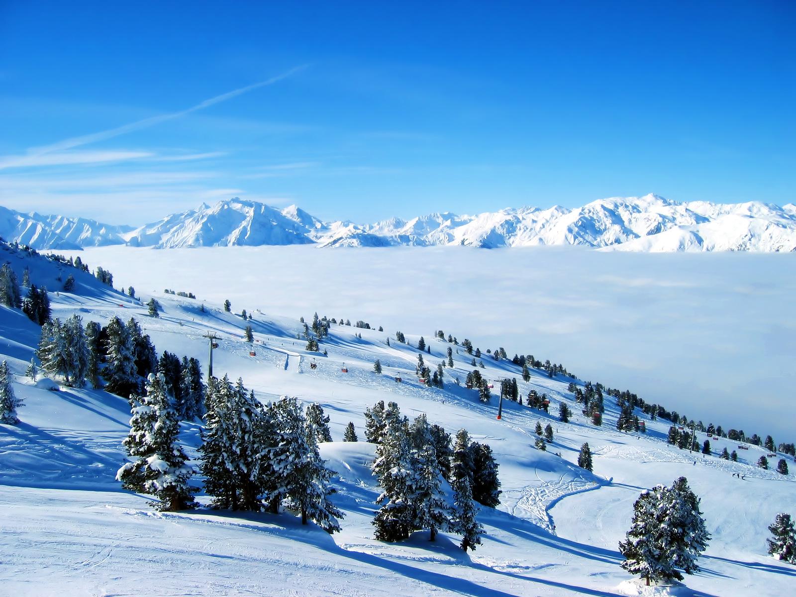 Manzaralı Kış Resimleri HD Winter Landscape Wallpapers