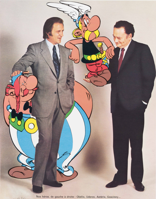 Albert Uderzo and René Goscinny