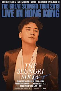 [Live Mixlr] The Great Seungri 2019 Tour in Hongkong