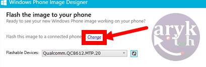 flash unbrick upgrade windows phone with WPID Tool -Setp 8