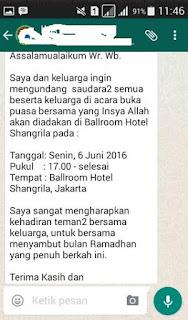 Guyonan Buka Bersama di Hotel, Sedang Hits disebarluaskan ...
