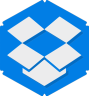 dropbox hexagon icon