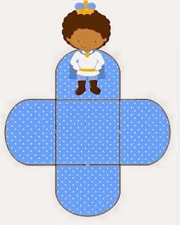 Príncipe Bebé Afro: Cajas Abiertas para Descargar Gratis.