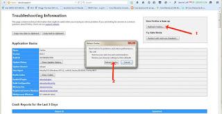 Cara Menghilangkan Malware Search Dengan Reset Mozilla