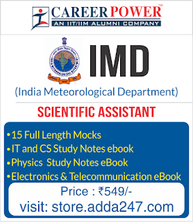 Scientific Assistant Test Series