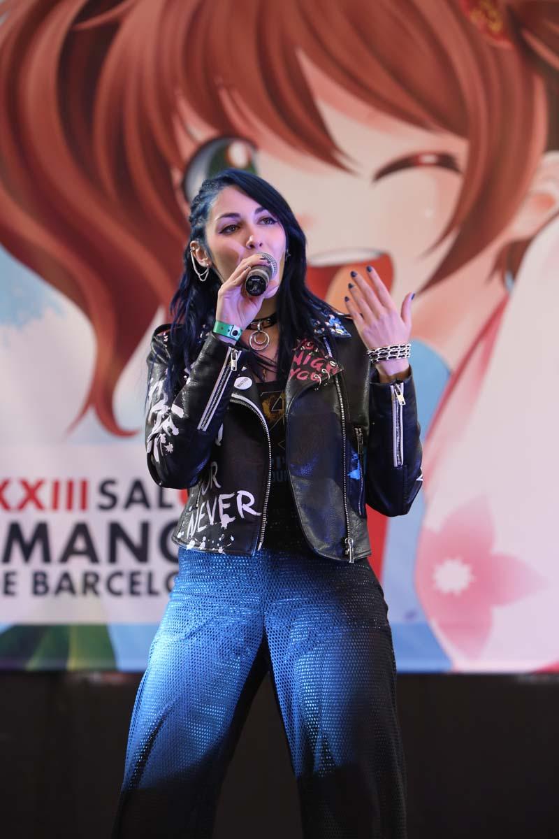 Mandy B.Blue en XXIII Salón del Manga de Barcelona