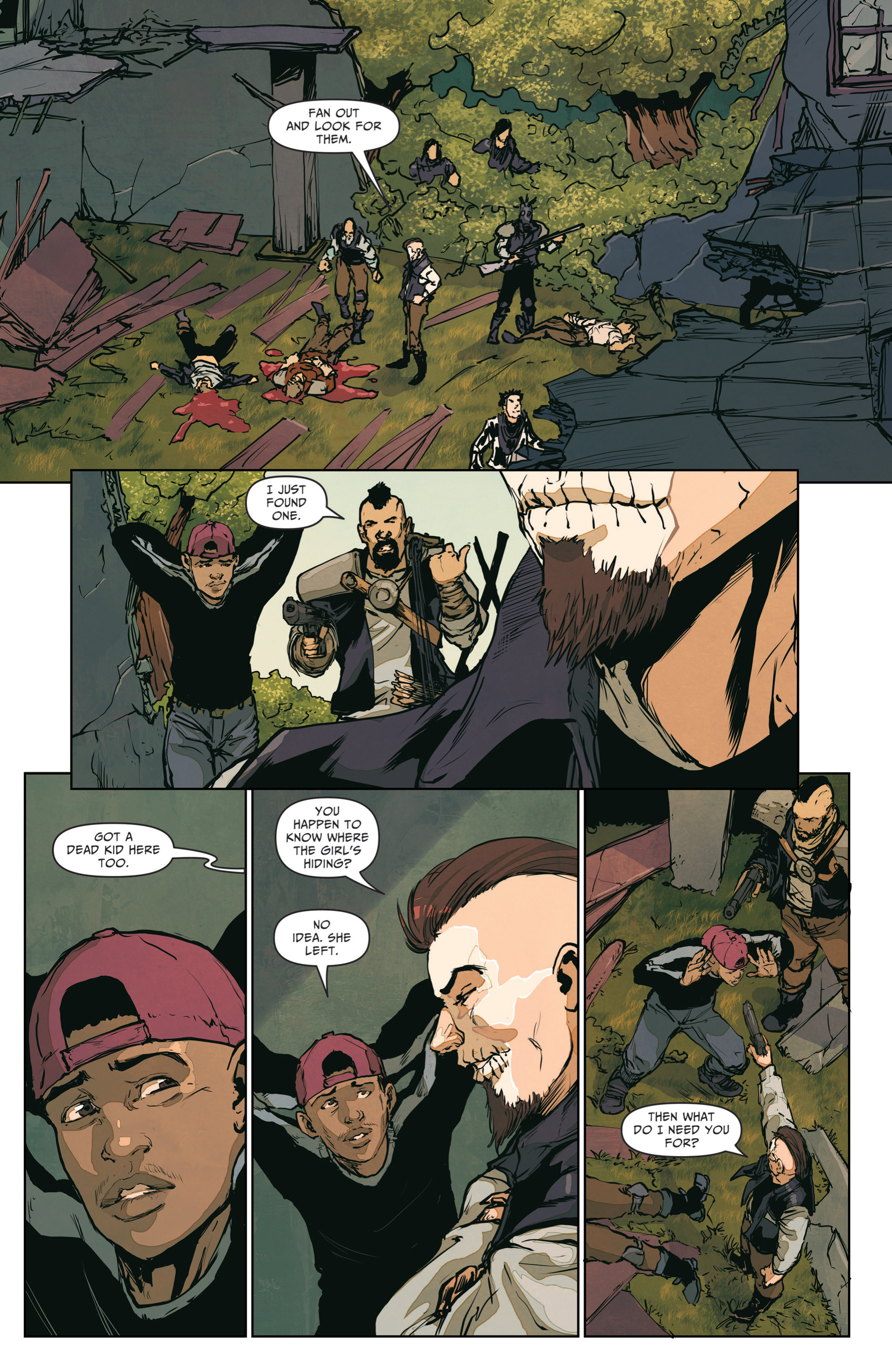 Read online The Courier: From the Ashes comic -  Issue #3 - 16