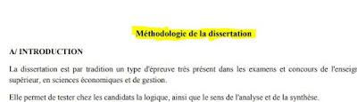 Méthodologie de la dissertation PDF