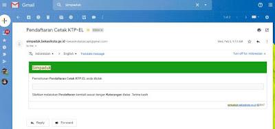 Cara Buat KTP Online Bekasi karena Hilang dengan Simpaduk online