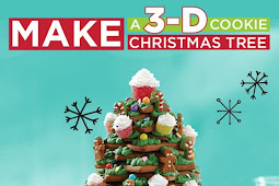 How To Make An Amazing 3D Cookie Christmas Tree