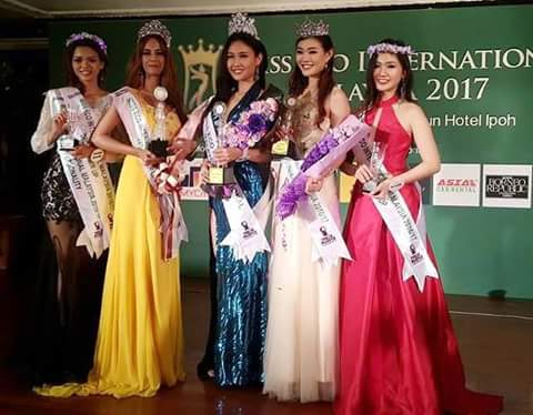 GANDANG PINAY WINS: Half Blood Filipina Janice Tan Won As Miss Eco Malaysia 2017
