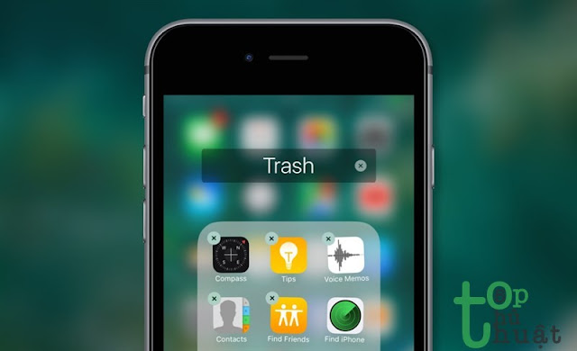 Khắc phục không thể xóa ứng dụng trên iPhone