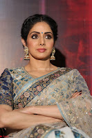 Sri Devi in designer saree stunning beauty at the launch of MOM movie Trailer~  Exclusive 048.JPG