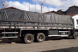 Polícia Militar recupera caminhão com carga avaliada em meio milhão de reais no município de Lagarto