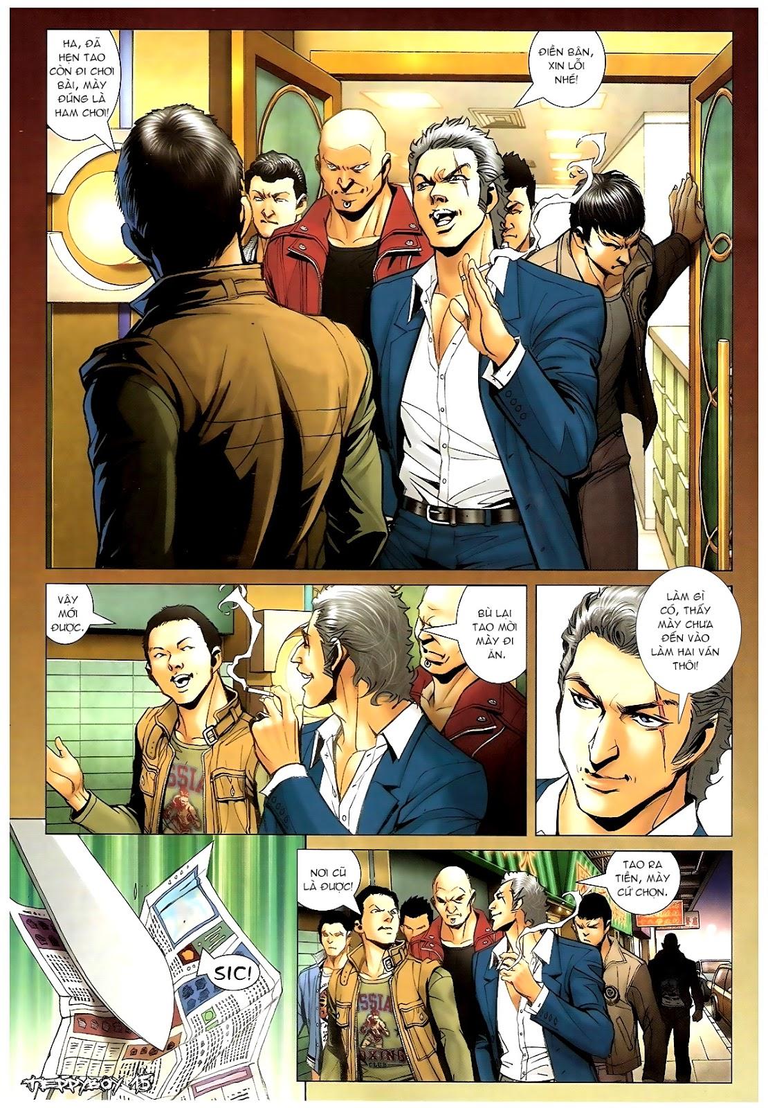 Người Trong Giang Hồ - Chapter 1381: Tự tìm diệt vong - Pic 13