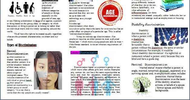 hayzkul lyf  discrimination brochure 1