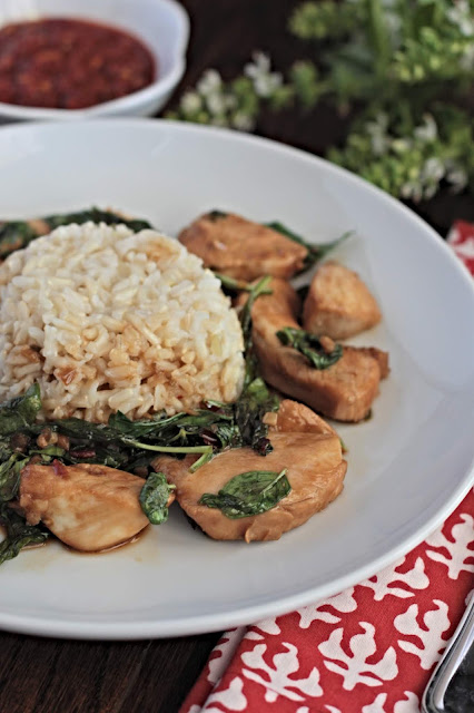 chrissy teigen basil chicken