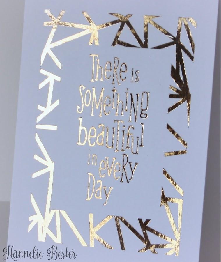 Deco foil card ideas