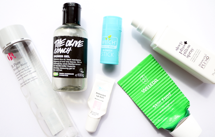 April Empties / Products I've Used Up