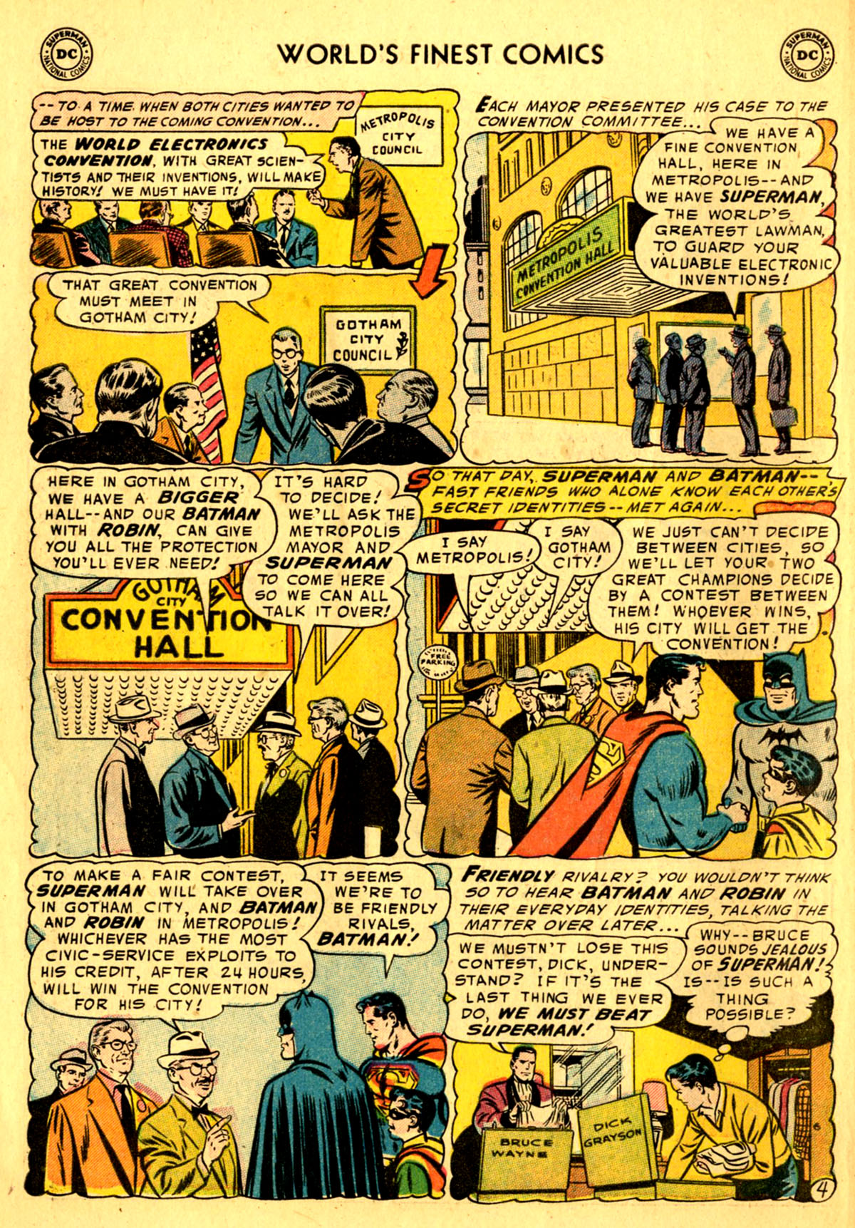 Read online World's Finest Comics comic -  Issue #76 - 6