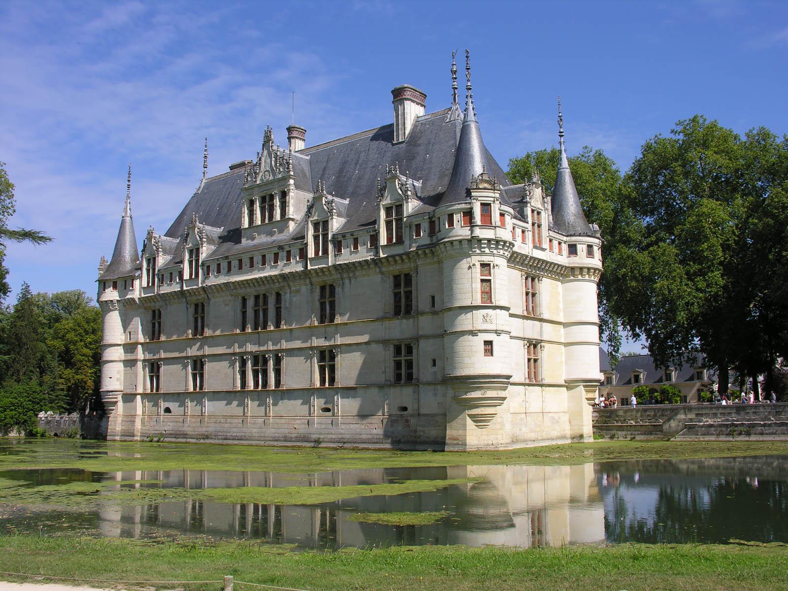 Chateaux De La Loire Azay Le Rideau