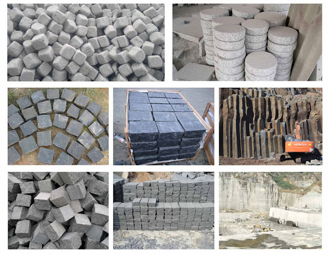 Granite Cobble Stone Paving Stones