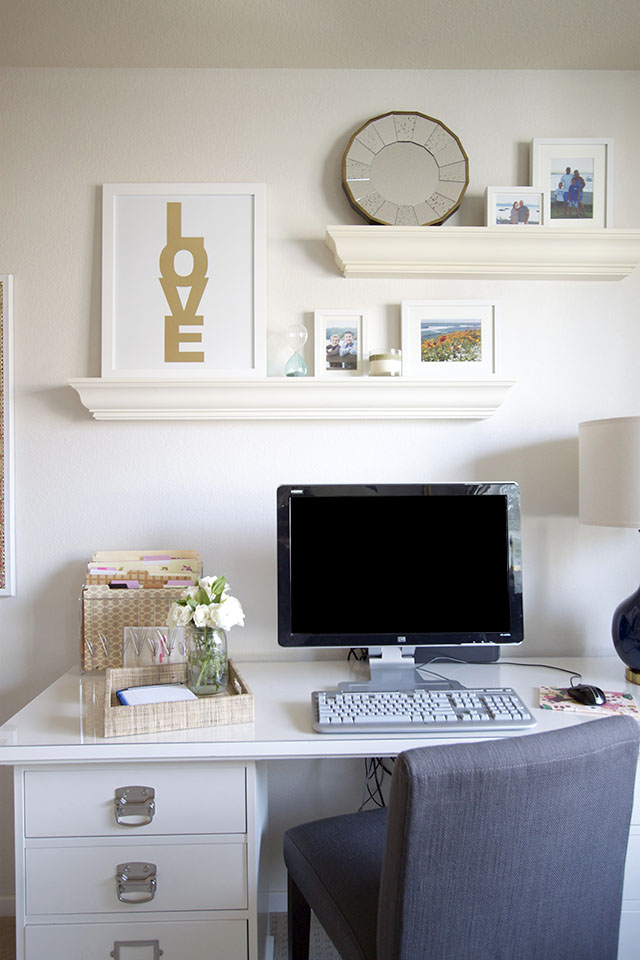 Client Reveal Preppy Home Office Michaela Noelle Designs