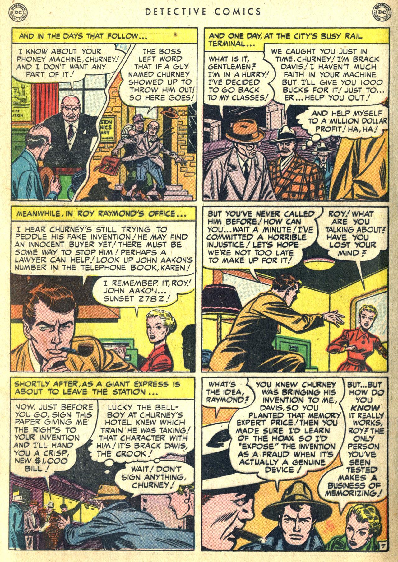 Read online Detective Comics (1937) comic -  Issue #168 - 25