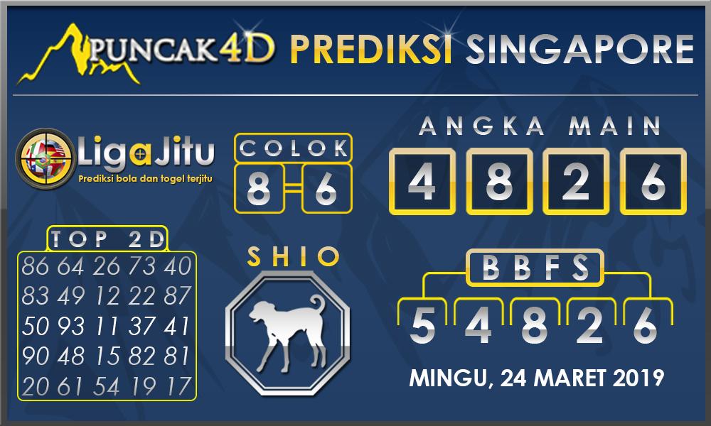PREDIKSI TOGEL SINGAPORE PUNCAK4D 24 MARET 2019