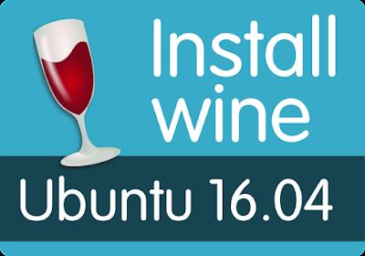 Cara Install Wine Dengan Mudah di Linux UBUNTU 16.04 LTS