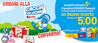 Logo Kinder Pasqua Suggestion: spendi 5€ e ricevi 5€ da Bennet